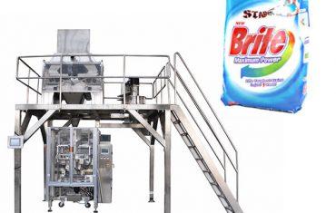 4 hlavy lineární vážicí prací prášek pracího balení stroje