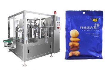 předem připravená taška na balení granulí pro plnění těsnící balicí stroj