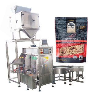 Automatické plnicí a těsnící stroj pro kávový prášek