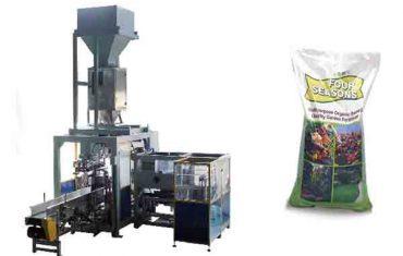 automatický balicí stroj na výrobu chemických hnojiv o hmotnosti 50 kg