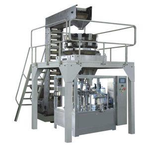Automatické přípravné granulové vážení Plnění a těsnění výrobní linky