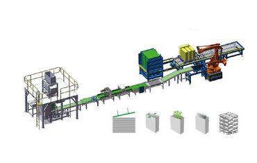automatické tkané polybagové balení paletovací linky