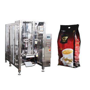 Kávový štítový sáček Form fill Fill Seal packaging machine
