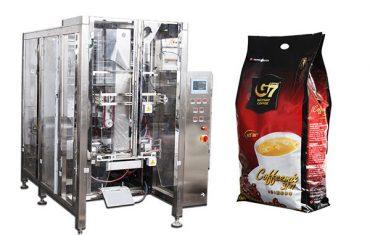 automatická čtyřválená taška na balení strojů s volným objemem plnicího stroje