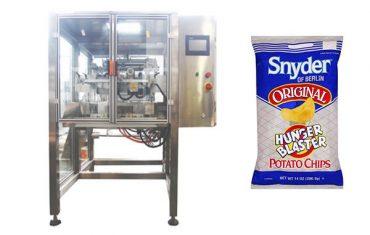 nepřetržitý pohyb vertikální snack potraviny granule balicí stroj