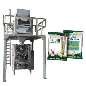Prací stroj na balení prášku
