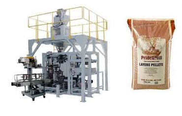 granulát krmivového granulového těžkého pytlového stroje
