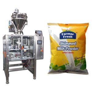 Stroj na balení mléčných prášků
