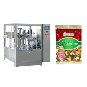 Ořechový rotační balicí stroj na zip s tahem
