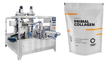 práškový automatický balicí stroj na plnění pytlů