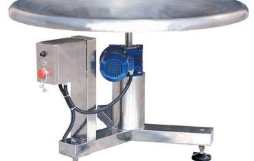 rotační akumulační stůl