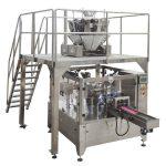 rotační automatické zipové sáčky plní těsnicí balicí stroj pro semena ořechů