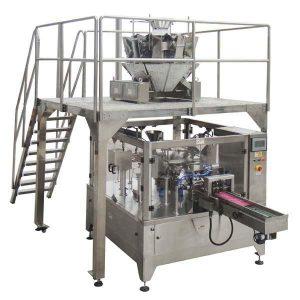Rotační automatické zipové balení Vyplňte těsnicí balicí stroj Pro semena ořechů