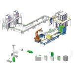 výroba druhotného balení paletovací linky