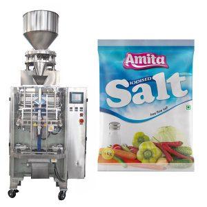 Vertikální automatická sáček sáčku sůl balení stroje