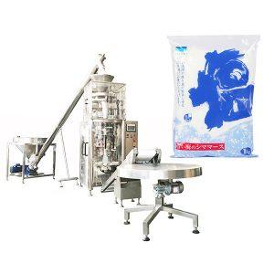 Vertikální forma Plnicí pečeť stroj s volumetrickým pohárem pro sůl