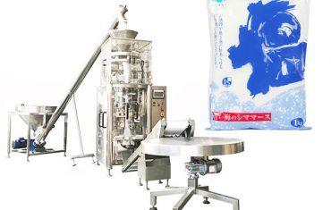 sůl vertikální forma plní těsnící stroj s volumetrickou miskou